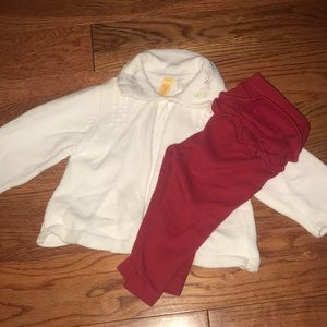 Gymboree Sweater and Pants